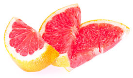 Slices of grapefruit Stock Photo