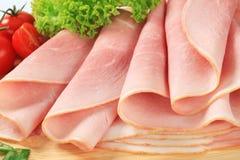 Slices of ham Stock Image