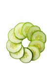 Heathy green cucumber Royalty Free Stock Photography