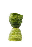 Hour glass cucumber royalty free stock photo