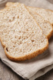 Slices of healthy oat bread Royalty Free Stock Photo