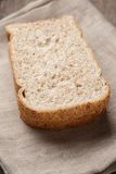 Slices of healthy oat bread Royalty Free Stock Photography