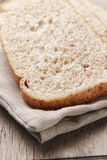 Slices of healthy oat bread Royalty Free Stock Photos