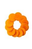 Orange carrot Royalty Free Stock Photos