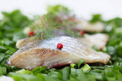 Slices of  herring Royalty Free Stock Photos
