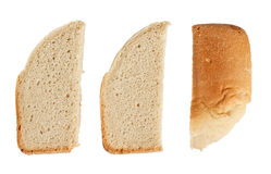 Slices of homemade bread Royalty Free Stock Images