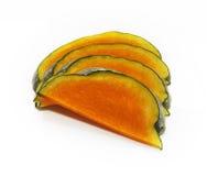 Slices of honeydew pumpkin Royalty Free Stock Photo