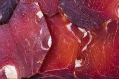 Slices of jamon Stock Image