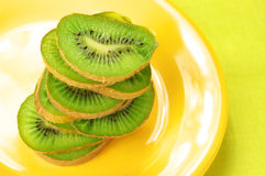 Slices of kiwi Stock Images