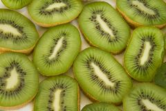Slices of kiwi Royalty Free Stock Images