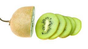 Slices of kiwi Stock Photo