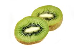 Slices of  kiwi. Stock Photography