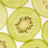 Slices of kiwi background Stock Image