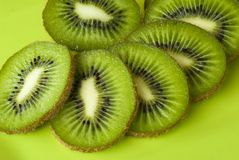 Slices of kiwi fruit Royalty Free Stock Photography