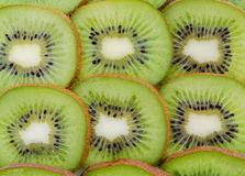 Slices of kiwi fruit Stock Photo