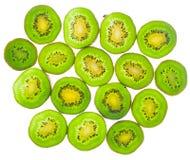 Slices of kiwi fruit Royalty Free Stock Image