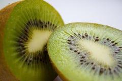 Slices of kiwi fruit Stock Photos