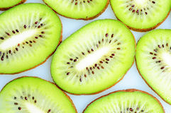 Slices of kiwi fruits Stock Image