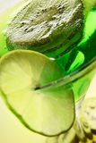 Slices of kiwi and lime Royalty Free Stock Photography
