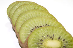 Slices of kiwi Royalty Free Stock Photos