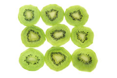 Slices of Kiwifruit Stock Photos