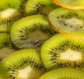 Slices kiwis. Slices of kiwi royalty free stock photos