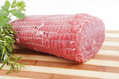 Slices of lean meat Stock Photography