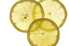 Slices of lemon Stock Photography