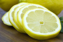 Slices of lemon Royalty Free Stock Images