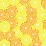 Slices of lemon and orange Stock Photo