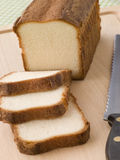 Slices of Maderia Cake stock photography