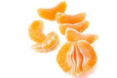 Slices of mandarin Stock Image
