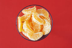 Slices of mandarin Royalty Free Stock Photo