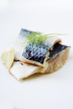 Slices of marinated herring Royalty Free Stock Photo