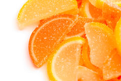 Slices of marmalade Royalty Free Stock Photos