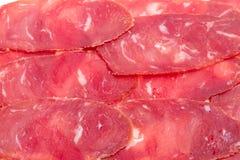 Slices meat Cagliari Stock Image