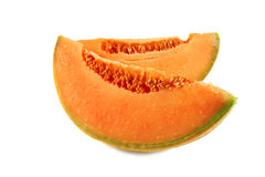 Slices of melon Stock Photos