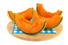 Slices melon Stock Photo