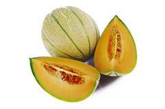 Slices of melon Stock Images