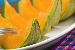 Slices of melon Stock Photo