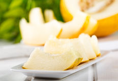 Slices of melon Stock Photography