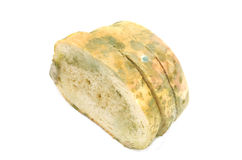 Slices of moulded bread Royalty Free Stock Photo