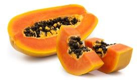 Free Slices Of Sweet Papaya Royalty Free Stock Photos - 83544368