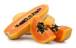 Free Slices Of Sweet Papaya Royalty Free Stock Photography - 90021597