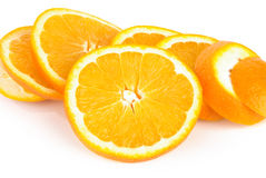 Slices of orange Stock Photography