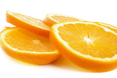 Slices of orange Royalty Free Stock Photos