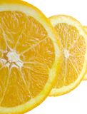 Slices of an Orange Stock Photo