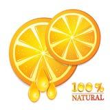 Slices orange Stock Photo