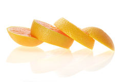Slices of Orange Royalty Free Stock Photos