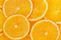 Orange. Slices of orange as background Royalty Free Stock Image